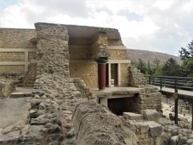 Lone survivor, Knossos Palace