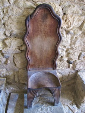 A replica of a throne, Knossos Palace
