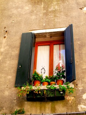 A beautiful Venetian window