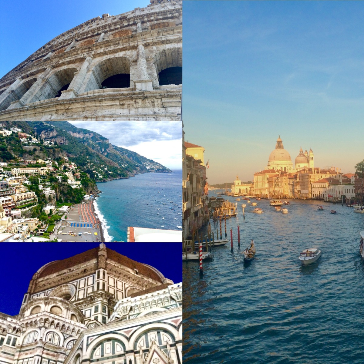Venice/Florence/Sorrento/Rome: 16 Days - 4 Destinations