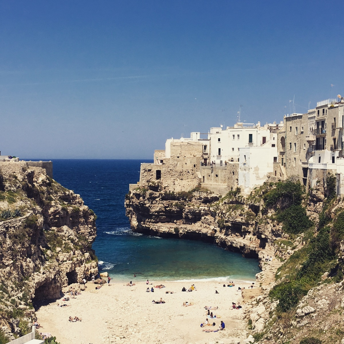 Destination 1: Polignano a Mare - 2 Nights